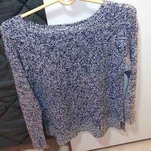 Ny Collection Sequin Sweater